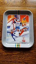 vintage advertising coca-cola tray Calgary olympic game 1988 pop bottle