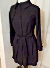 SITA MURT/ESTEVE ANTHROPOLOGIE BEAUTIFUL AND RARE  BLACK COAT SZ 38/S EUC