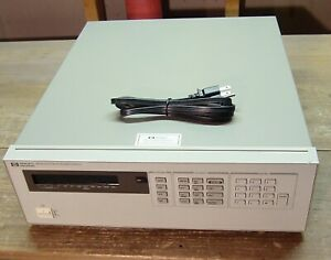 HP Agilent 6624A Quad Variable DC Output Power Supply - for Parts or Repair
