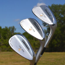 Cleveland 588 RTX Gap Sand & Lob Wedge Set True Temper Steel 52/10 56/14 60/12