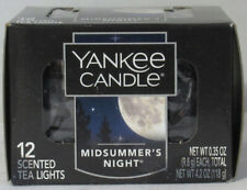 Yankee Candle 12 Scented Tea Light T/L Box Candles MIDSUMMER'S NIGHT