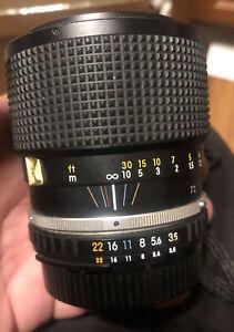 """N MINT"" NIKON Ai-s Series E Zoom 36-72mm"
