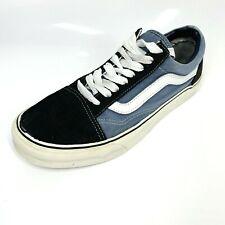 Vans Iconic Trainers Sneakers UK8 EU42 Blue Black White (1306 B15)