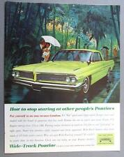 Original 1961 Pontiac Catalina Ad HOW TO STOP STARING AT OTHER PEOPLES PONTIACS