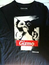 """New listing Gremlins Movies' """"Gizmo"""" Black Short Sleeve T-Shirt, by Time Warner Size XL"""