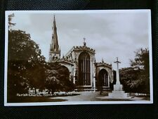 NEWARK ON TRENT CHURCH PHOTO POSTCARD