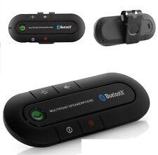 Kit Vivavoce Bluetooth da Auto Multipoint Universale per Cellulari e Tablet