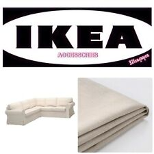 IKEA EKTORP 4 Seat Sectional Lofallet Beige Corner Sofa Slipcover 403.216.88