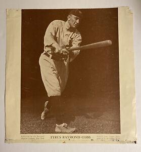 Vintage Baseball Magazine Publication Ty Cobb Detroit Tigers