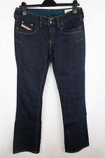 Diesel Ronhar Women Jeans Blue Bootcut Fit Stretch Cotton W32 L34