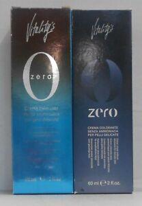 Vitality's (Vitelity's) 0 ZERO Professional Ammonia Free Hair Color Cream ~ 2 oz