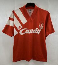 Liverpool Home Football Shirt 1991/92 Adults Medium/Large Adidas A654