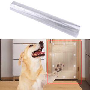 Pet Cat Scratch Shield Dog Anti Scratching Protector Door Guard Cover New