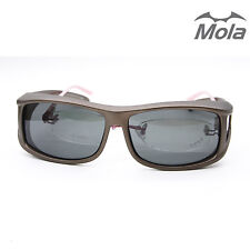 MOLA polarized fit over sunglasses prescription glasses driving men women medium