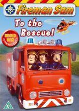 Fireman Sam To The Rescue Region 2 New DVD