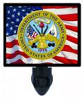 Patriotic Decorative Photo Night Light, Army, American, USA, United States Flag