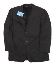Jones Mens Wool Black Suit Jacket 38 Chest (Short)