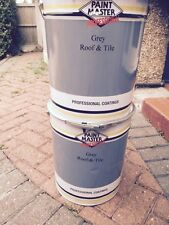 HEAVY DUTY GREY Acrylic Roof And Tile Paint 20lt CHEAPEST ON EBAY 7 COLOURS