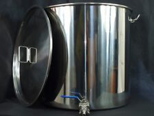 100ltr stainless steel stockpot with tap (mash tun hlt kettle with) fermenter