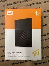 Western Digital My Passport WDBYVG001088KWESN 1TB,External,2.5 inch Hard Drive