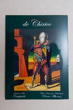 OMAGGIO A DE CHIRICO - Studio d'Arte Campaiola - 2002