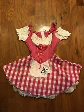 CHARADES LITTLE MISS MUFFETT Costume Halloween DRESS Sz L