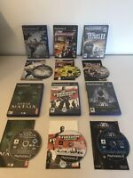 Ps2 Games Bundle for sony playstation 2 games console video game job lot set