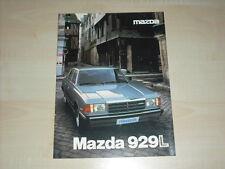 60683) Mazda 929 L Prospekt 04/1980