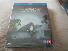 """COF BLU-RAY METAL NEUF """"LES ANIMAUX AMOUREUX"""" documentaire Laurent CHARBONNIER"""