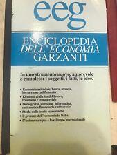 ENCICLOPEDIA DELL'ECONOMIA GARZANTI IN UNO STRUMENTO NUOVO,AUTOREVOLE E COMPLETO