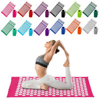 Acupuncture Massage Cushion Pillow Gym Yoga Mat Body Muscle Tension Spike Pad