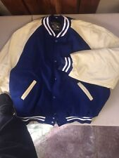 Holloway Letter Jackets - Leather Raglan Sleeves/Quilt Lined/Wool Bodied