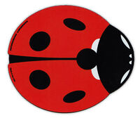 Magnetic Bumper Sticker - Red Ladybug (Lady Bug) Design - Good Luck, Make a Wish