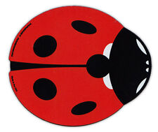 Magnetic Bumper Sticker - Red Ladybug (Lady Bug) Design - Good Luck, Make a Wish