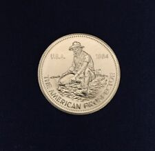 1984 Engelhard The American Prospector 1 oz .999 Silver Round Coin