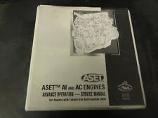 Mack ASET AI and AC Engines Advance Operation Service Manual   TS87702   2002