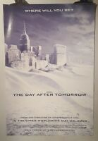 The day after tomorrow Original Cinema movie poster one sheet size B