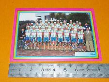 N°179 KELME MERLIN GIRO D'ITALIA CICLISMO 1995 CYCLISME PANINI TOUR