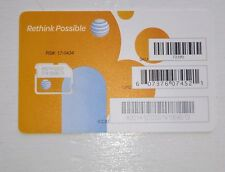 BRAND NEW PREMIUM AT&T Micro Sim Card GOPHONE OR CONTRACT UNACTIVATED