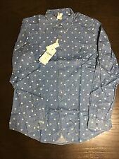 Ben Sherman Men's Long Sleeve Button Down Dress Shirt Size Large