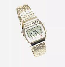 Vintage  Square Time Melody Lcd Alarm Chronograph  Digital Wrist Watch NOS(229M)