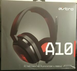Astro A10 Gaming Headset For PC/PS4/Xbox One Red  *New*