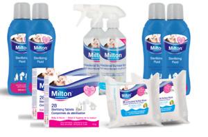 Milton Sterilising Tablets, Spray, Fluid - Multibuy Pack Sizes