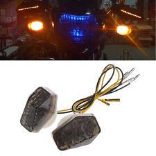 2 X Motorcycle LED Flush Mount Turn Signal Indicator Flasher For Suzuki GSXR 600