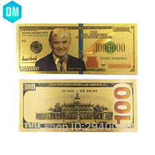 The Us President Donald Trump Commemorative Note One Million Dollar Bills Gifts