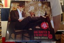 Ian Hunter & the Rant Band Fingers Crossed LP sealed 180 gm vinyl + mp3 download