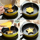 Stainless Steel Kitchen Pancake Mould Ring DIY Fried Egg Cooking Shaper Tool New
