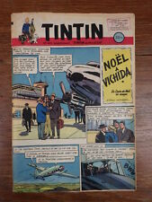 JOURNAL TINTIN ANNEE 1952 Numéro 218 Couverture WEINBERG Bel exemplaire
