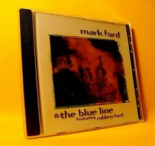 NEW CD Mark Ford & The Blue Line Ft Robben Ford 11TR 1998 Modern Harmonica Blues