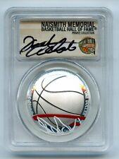 2020 S $1 Colorized Basketball Commemorative PCGS PR70DCAM FDOI Dick Vitale